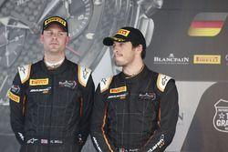 Podium: 2. #58 Garage 59 McLaren 650S GT3: Rob Bell, Alvaro Parente