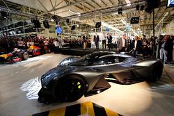 Andy Palmer, President & Chief Executive Officer, Aston Martin Lagonda Ltd met Martin Brundle, David