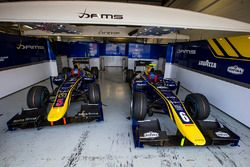 Cars of Alex Lynn, DAMS and Nicholas Latifi, DAMS