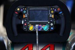 Volante de Lewis Hamilton, Mercedes AMG F1 W07 Hybrid