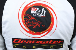 Detalle de logo Clearwater Racing