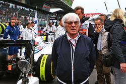 Bernie Ecclestone sur la grille