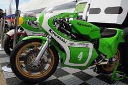 Historische Kawasaki-Bikes