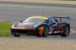 #127 Baron Service Ferrari 458: Tommy Lindroth