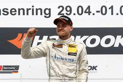 Podium: Winner Antti Buri, LMS Racing, SEAT Leon TCR