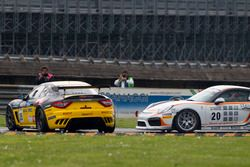 Carsten Strüwe, PROsport Performance, Porsche Cayman PRO4 GT4; Mauro Calamia, Giuseppe Fascicolo, Swiss Team, Maserati GranTurismo MC GT4