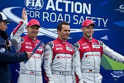 #7 Audi Sport Team Joest Audi R18: Marcel Fässler, Andre Lotterer, Benoit Tréluyer