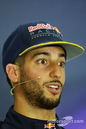 Press conference: Daniel Ricciardo, Red Bull Racing