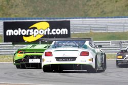 #8 Bentley Team ABT, Bentley Continental GT3: Fabian Hamprecht, Guy Smith