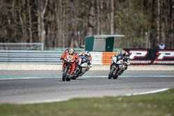 Lorenzo Savadori, IodaRacing Team, Markus Reiterberger, Althea BMW Team y Jordi Torres, Althea BMW T