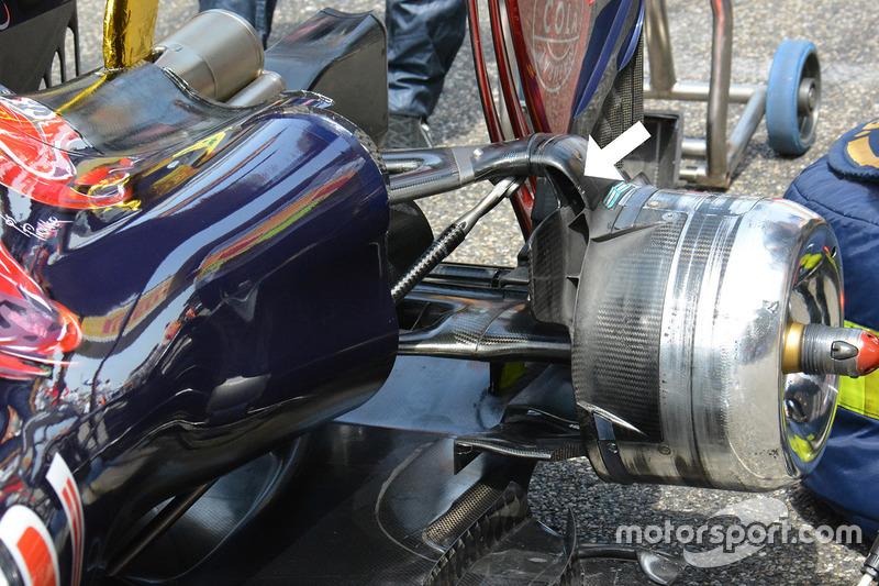 Toro Rosso: Heckbereich