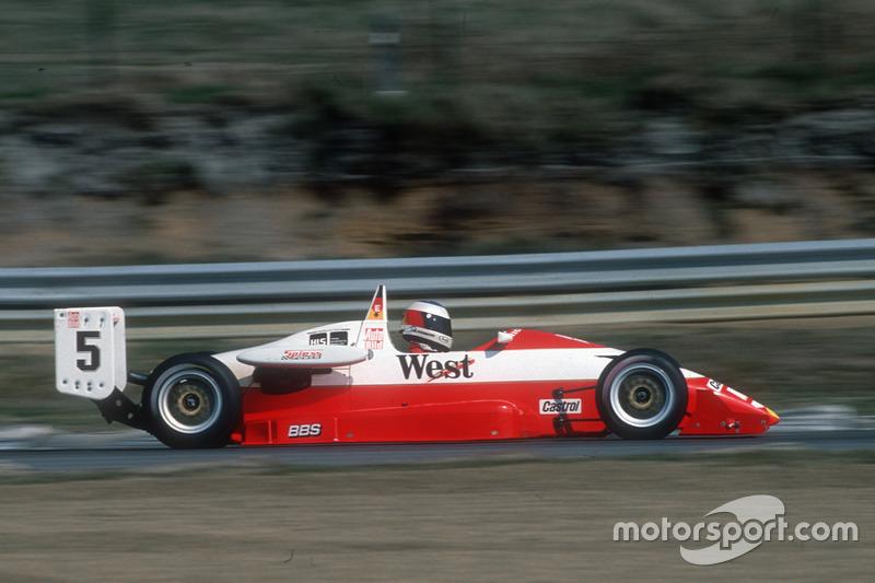 1989: Michael Schumacher wird Dritter