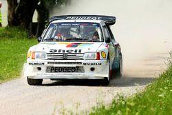 #15 Erich Müller, Thomas Hummer, Peugeot 205T16