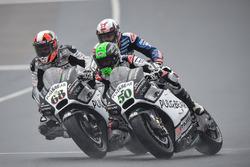 Eugene Laverty, Aspar MotoGP Team et Yonny Hernandez, Aspar MotoGP Team