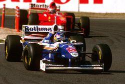 Jacques Villeneuve, Williams FW19, Eddie Irvine, Ferrari F310B