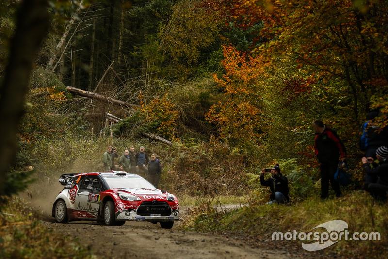 Craig Breen, Scott Martin, Citroën DS3 WRC