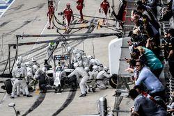 Felipe Massa, Williams Martini Racing FW38 pitstop