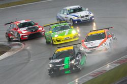 Lena Strycek, Robin Strycek, Volker Strycek, Opel Astra OPC Cup