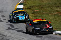 #92 HART Honda Civic Si: Kevin Boehm, Steve Eich, #31 Bodymotion Racing Porsche Cayman: Jason Rabe, Devin Jones