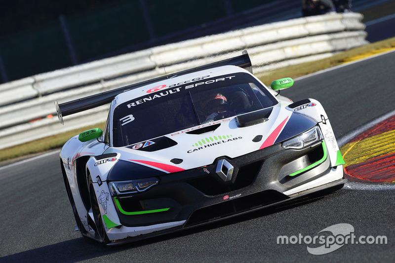 #3 R-ace GP Racing Renault RS01: Kevin Korjus, Philippe Haezebrouck