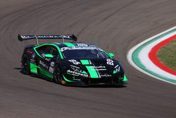 #109 Lamborghini Huracan S.GTCup, Antonelli Motorsport: Necchi-Spinelli
