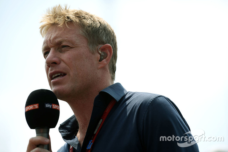 Simon Lazenby, Sky Sports F1 TV Presenter