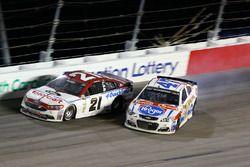 A.J. Allmendinger, JTG Daugherty Racing Chevrolet, in trouble
