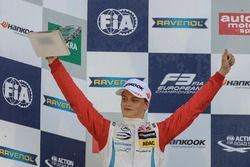 Podium, Rookie, Ralf Aron, Prema Powerteam Dallara F312 - Mercedes-Benz