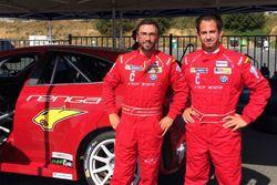 Alfa Romeo Giulietta TCR met Fabio Marchiafava en Loris Cencetti