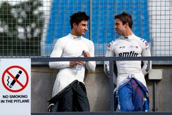 Mitch Evans, Jaguar Racing y Antonio Felix da Costa, Amlin Andretti Formula E Team