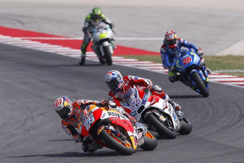 Dani Pedrosa, Repsol Honda Team, Andrea Dovizioso, Ducati Team, Maverick Viñales, Team Suzuki Ecstar MotoGP