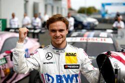 Polesitter Lucas Auer, Mercedes-AMG Team Mücke, Mercedes-AMG C63 DTM