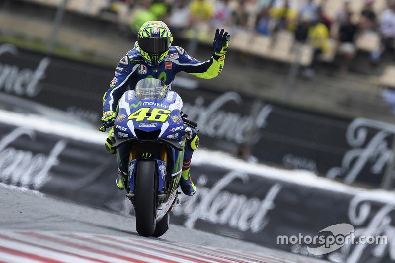 1. Valentino Rossi: 75 Siege