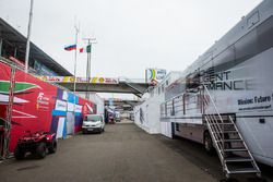 Porsche Team zona de Paddock