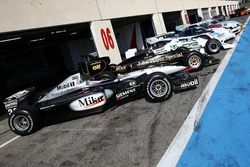 McLaren MP4-16; Lotus F1; Williams F1; Porsche 956; Ford Grand Am; Porsche