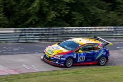 #254 Team WS Racing, Opel Astra OPC Cup: Friedrich Rabensteiner, Uwe Stein, Tatjana Hanser, Christop