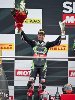 Jonathan Rea, Kawasaki Racing Team, sul podio