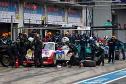 #57 Kremer Racing, Porsche 997 KR: Eberhard Baunach, Wolfgang Kaufmann, Philippe Haezebrouck, Edgar