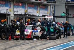 #57 Kremer Racing, Porsche 997 KR: Eberhard Baunach, Wolfgang Kaufmann, Philippe Haezebrouck, Edgar Salewsky