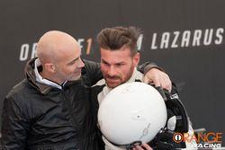 Andrea Ceccato e Armando Donazzan, CEO di Orange1 Racing