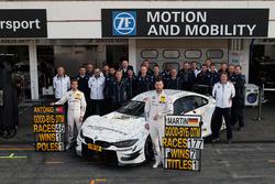 Últimas carreras DTM de António Félix da Costa y Martin Tomczyk, BMW Team Schnitzer
