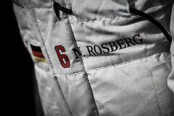 La combinaison de Nico Rosberg, Mercedes AMG F1