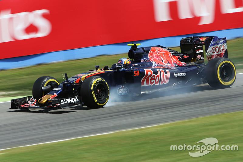 15: Карлос Сайнс-мол., Scuderia Toro Rosso STR11 (штраф - втрата трьох позицій)