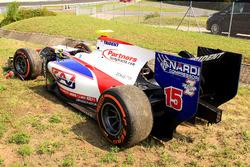 La voiture de Luca Ghiotto, Trident
