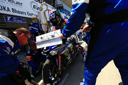 #7 YART Yamaha Official EWC Team: Broc Parkes, Marvin Fritz, Ivan Silva in the pitlane