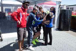 Danilo Petrucci, Pramac Racing, Pol Espargaró, Monster Yamaha Tech 3 con un Koala