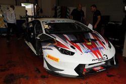 Lamborghini Huracan del team Vincenzo Sospiri Racing