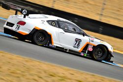#78 Bentley Team Absolute Bentley Continental GT3: Andrew Kim
