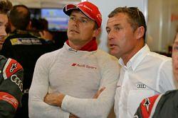 Marcel Fässler, Audi Sport Team Joest; Tom Kristensen