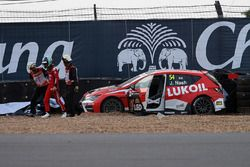 Unfall: James Nash, Proteam Racing, Ford Focus ST TCR